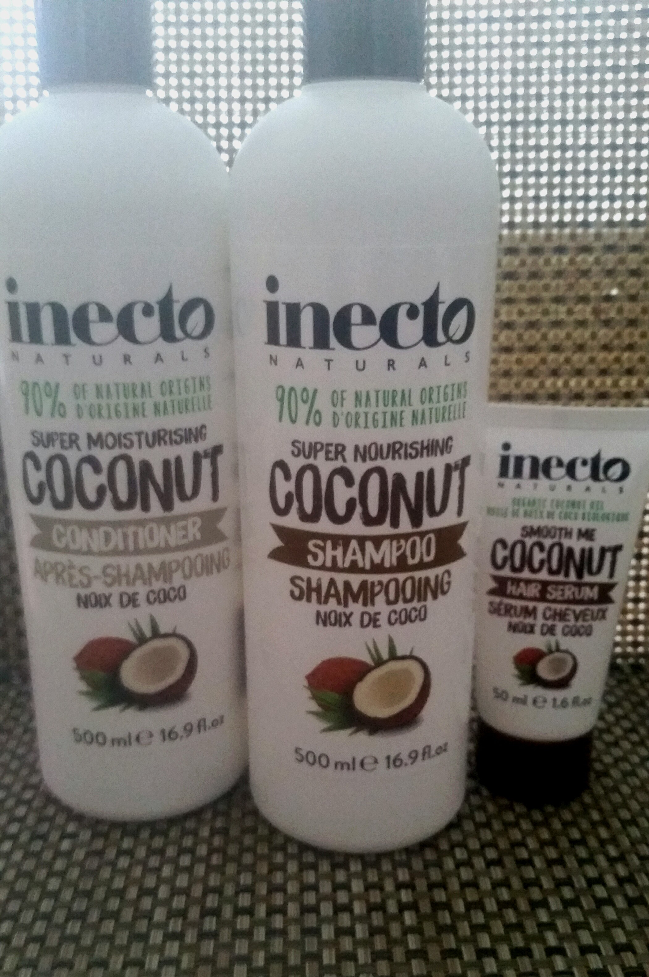 Inecto Super Nourishing Coconut haarproducten