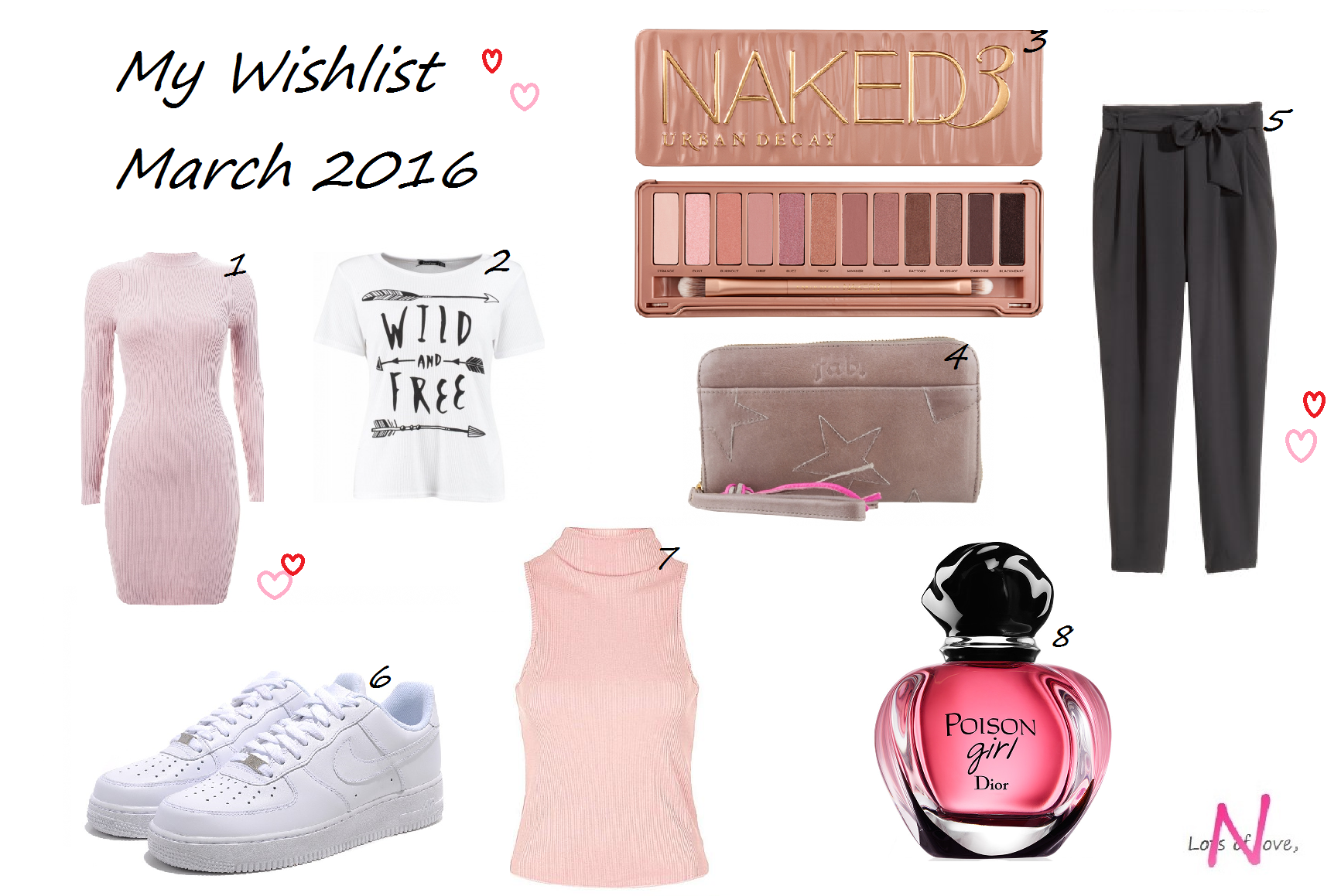 My March Wishlist