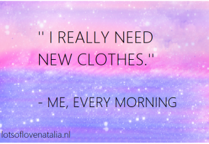 quote fashion verslaafde by me