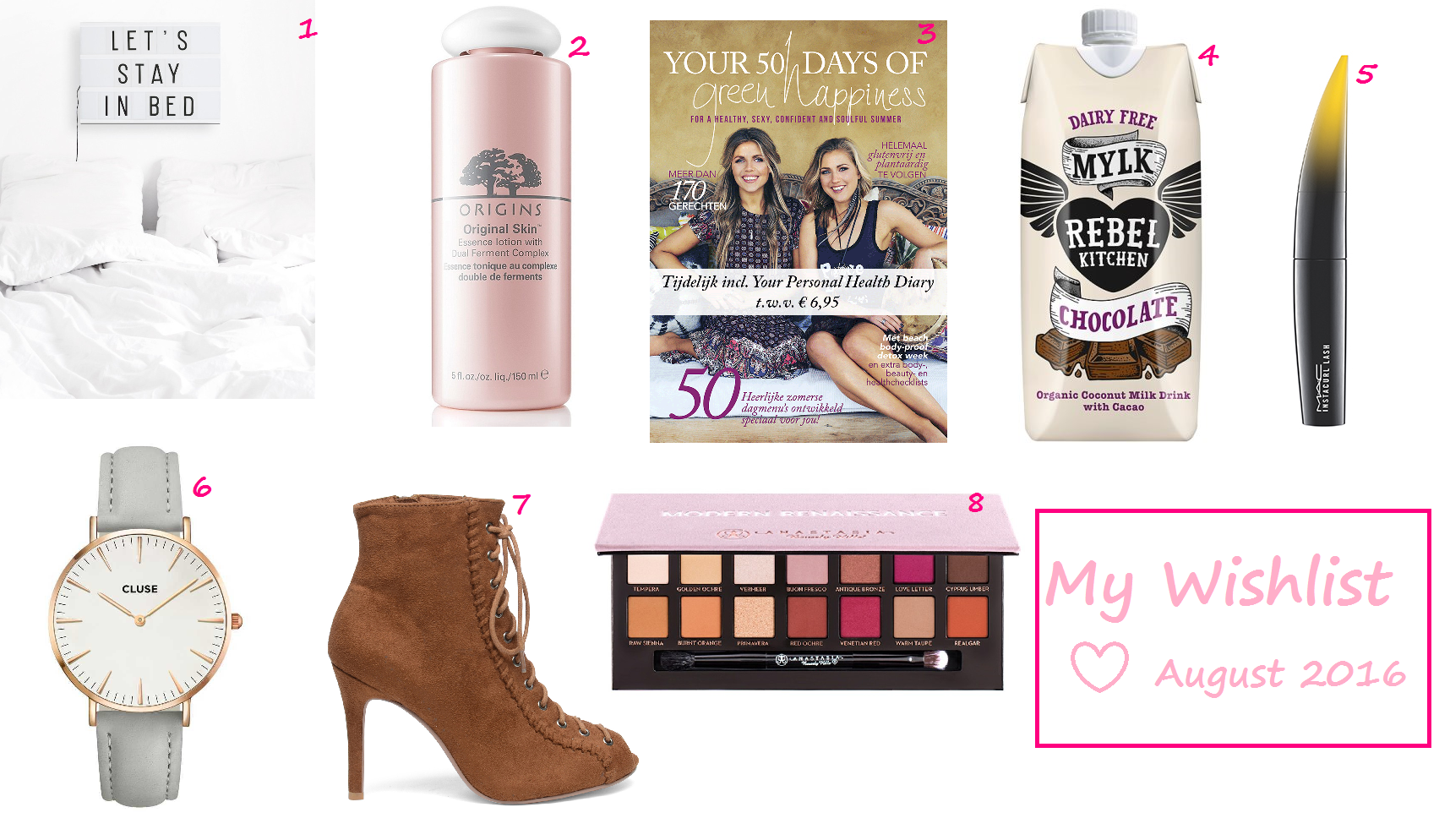 My Wishlist ♥ August 2016