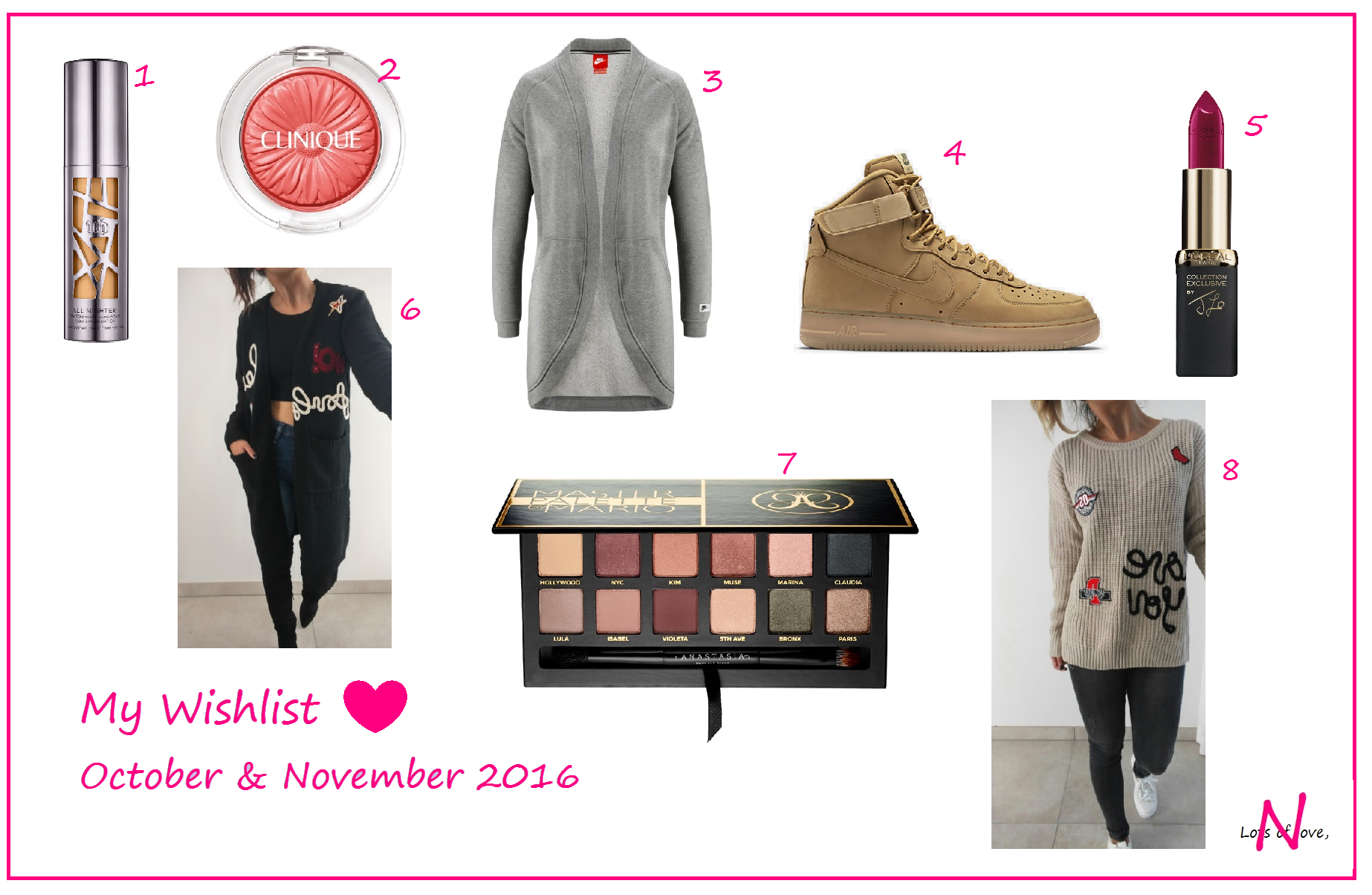 My Wishlist ♥ October & November